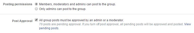 Facebook Group Posting Rules