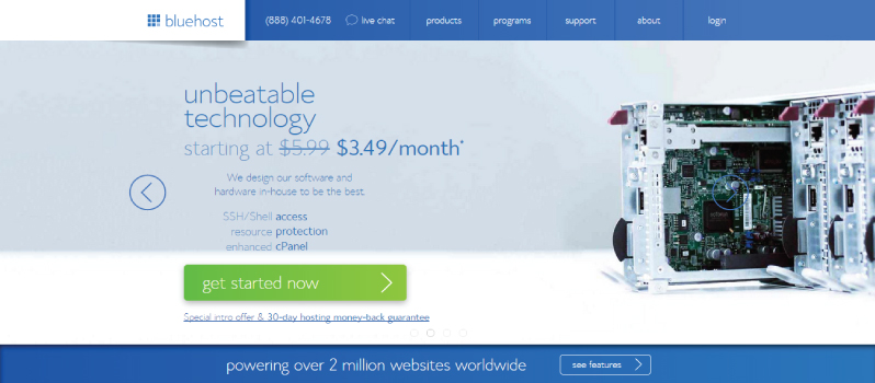 Buy Web Hosting with a Domain Name for WordPress Blog
