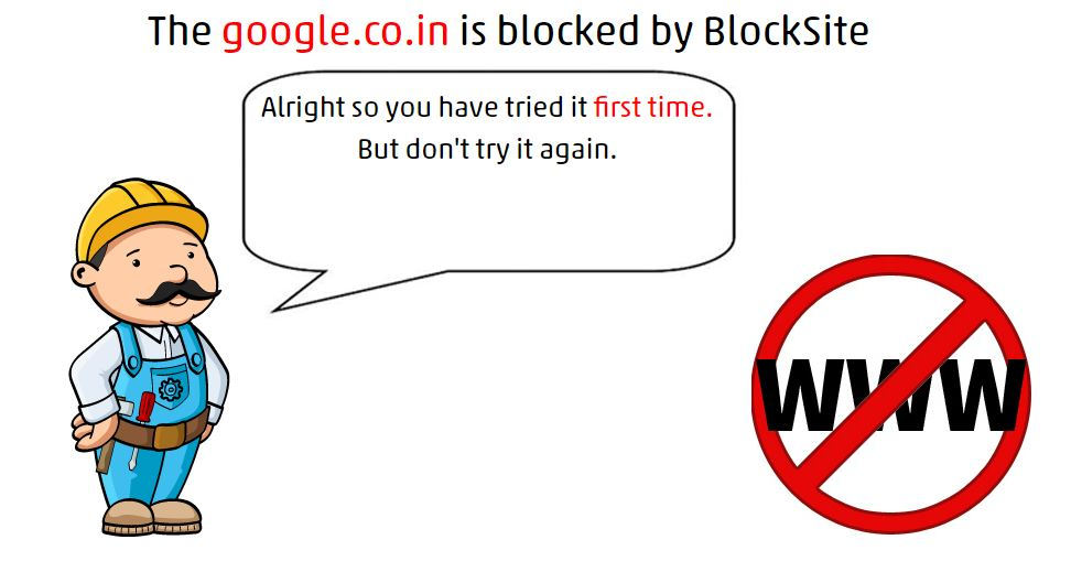 Website Blocked on Google Chrome