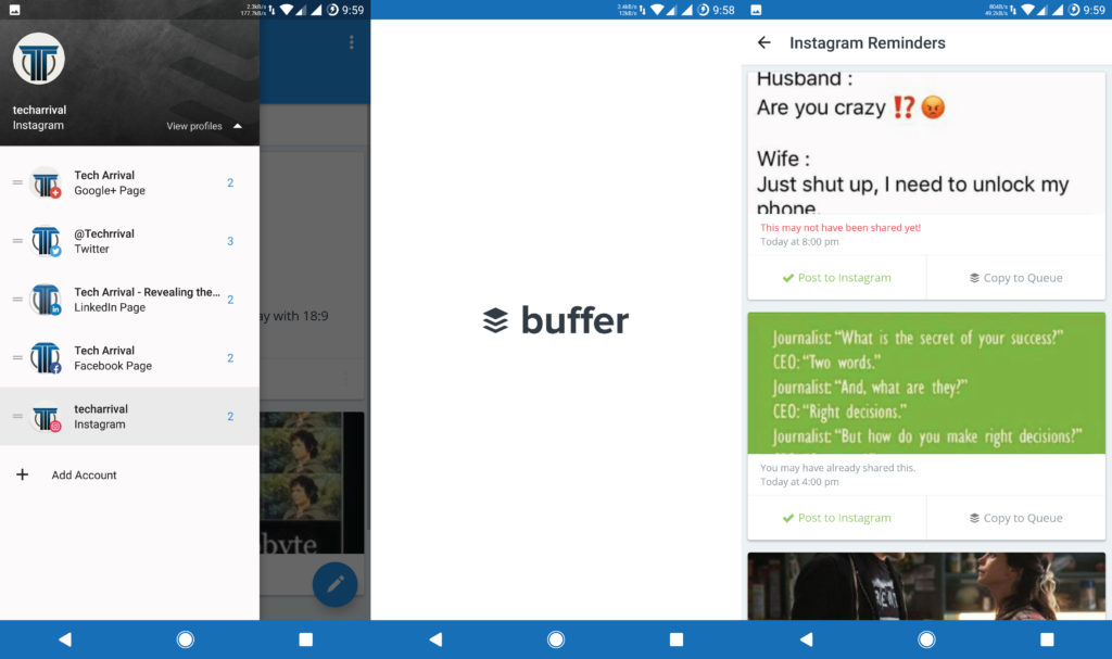 Buffer Android App