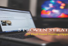 Find Guest Posting Opportunities