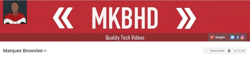 MKBHD YouTube Channel