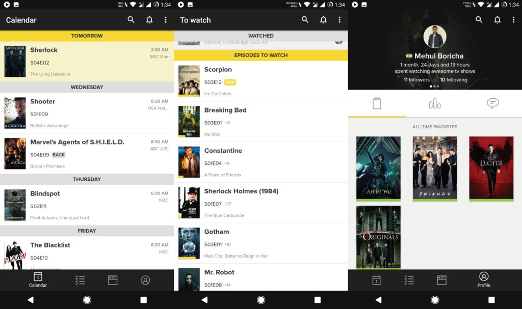 Tvshow Time - Best Apps For Android