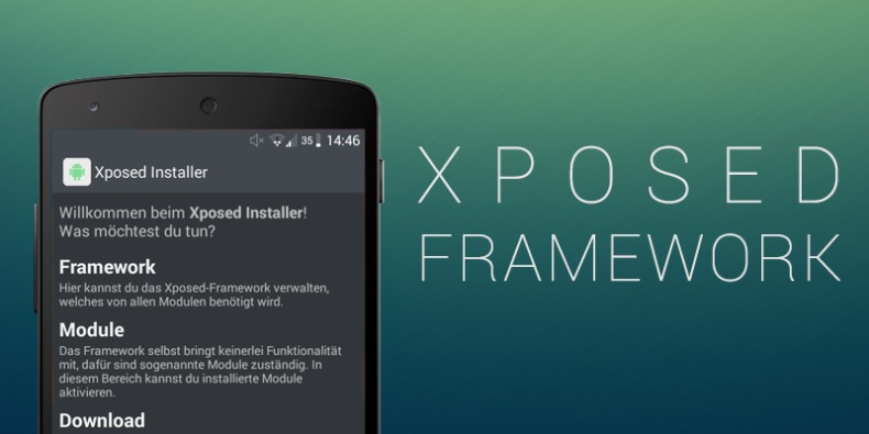 Xposed Framework Android App