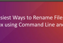 Rename Files in Linux