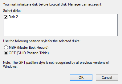 Windows Partition Manager