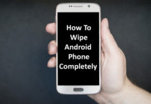 Wipe Android Phone