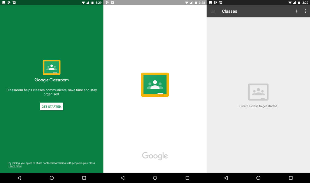 Google Classroom Android App