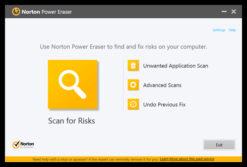 Norton Power Eraser