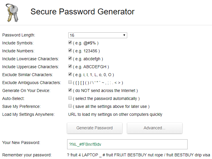 PasswordGenerator.net