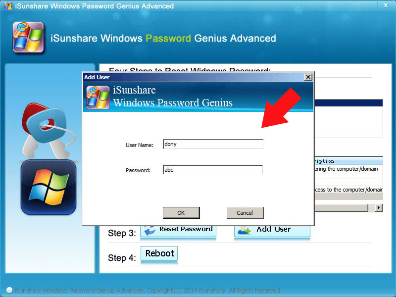 Windows Password Genius - Password Reset