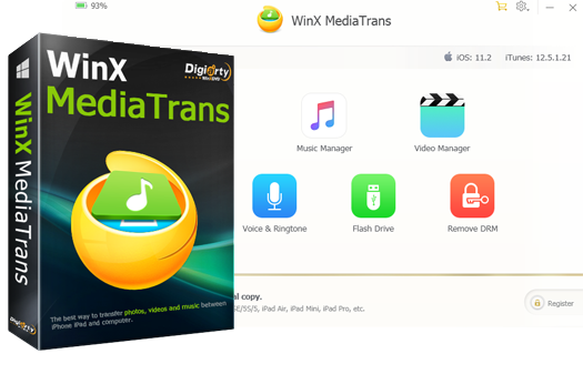 WinX MediaTrans Main App