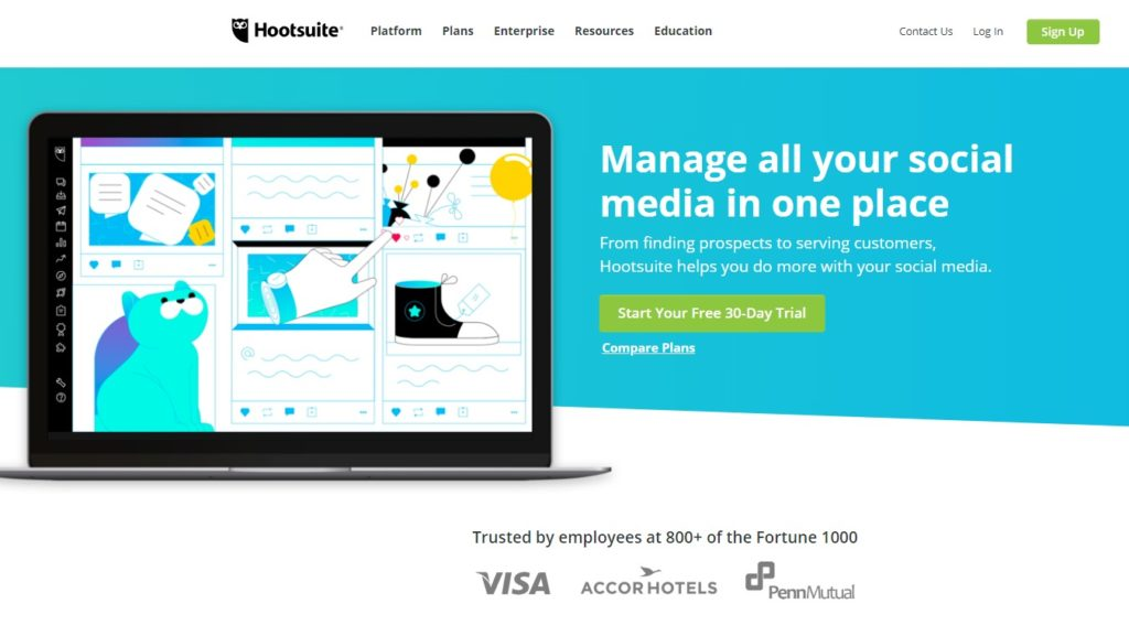 hootsuite social sweepstakes 10 best social media management tools boost your effort 3680