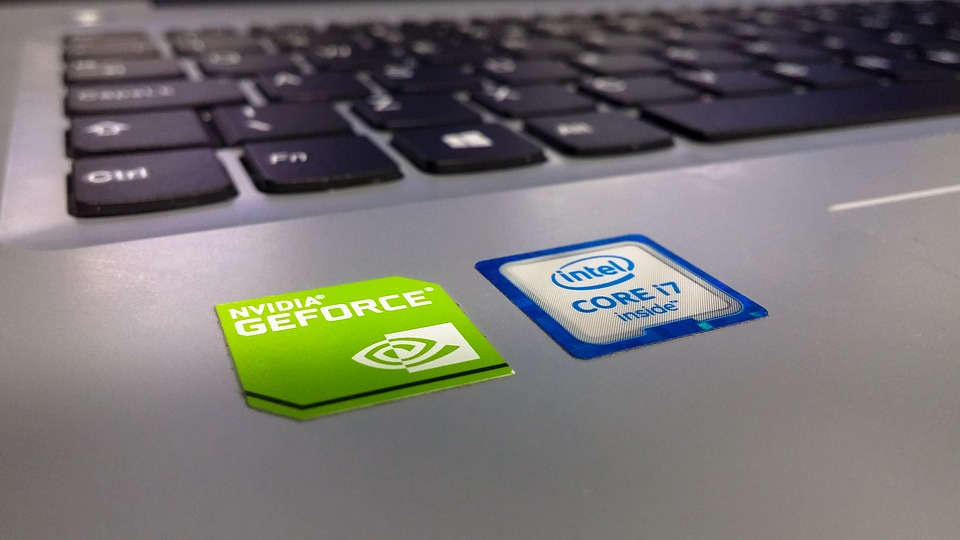 NVIDIA Laptop Sticker
