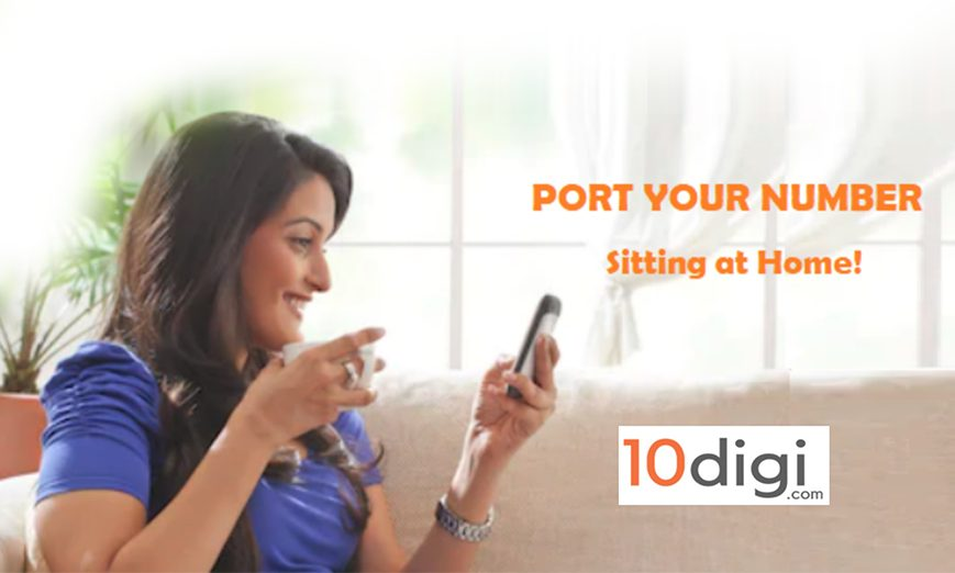 Port Your Number Using 10digi