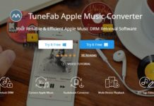 TuneFab Apple Music Converter Homepage