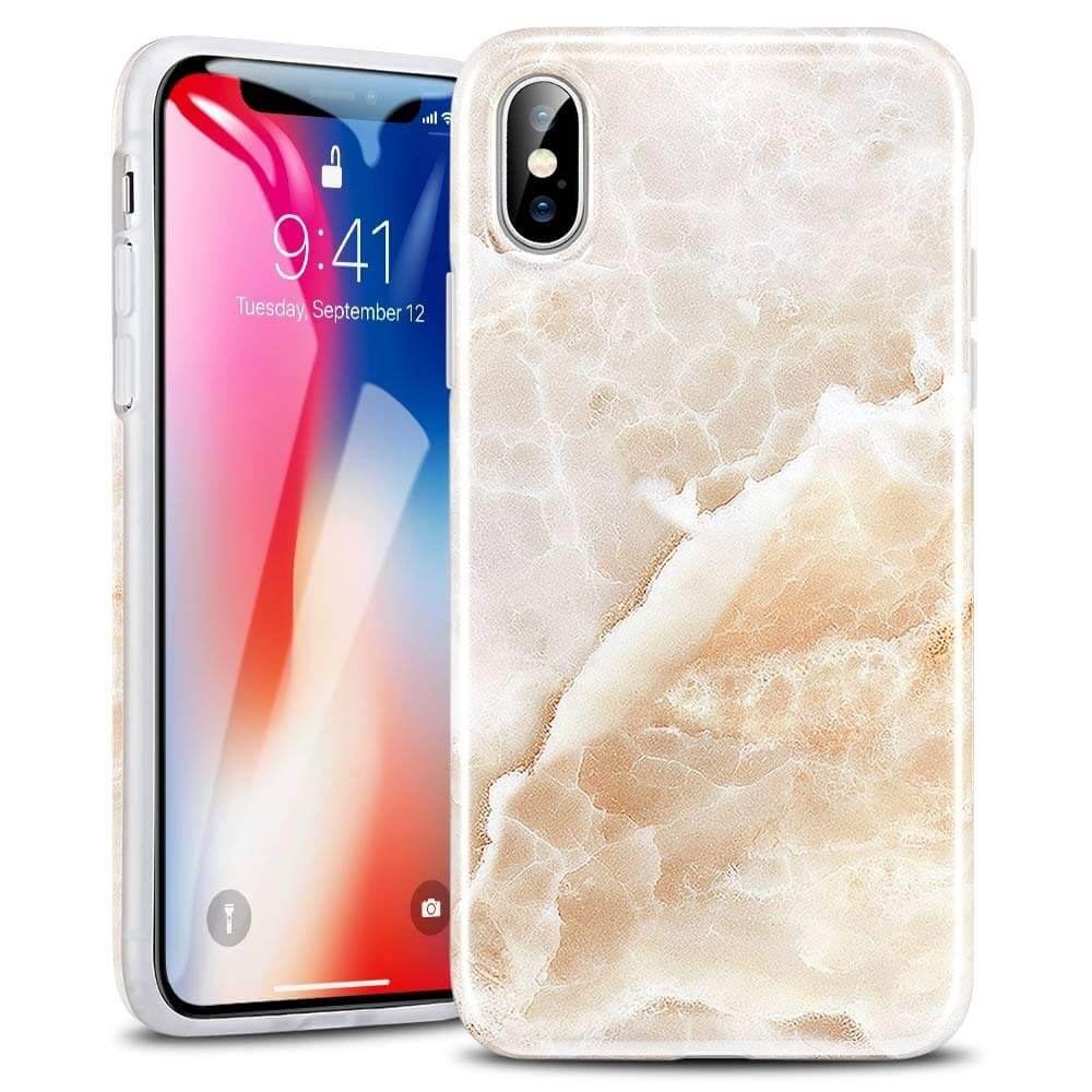 ESR Marble Pattern iPhone X Cover
