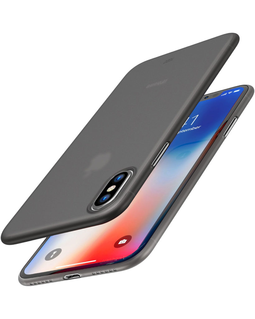 TOZO Ultra Thin Hard iPhone X Case
