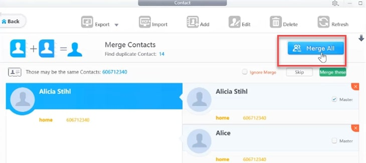 Dearmob Iphone Manager Contacts