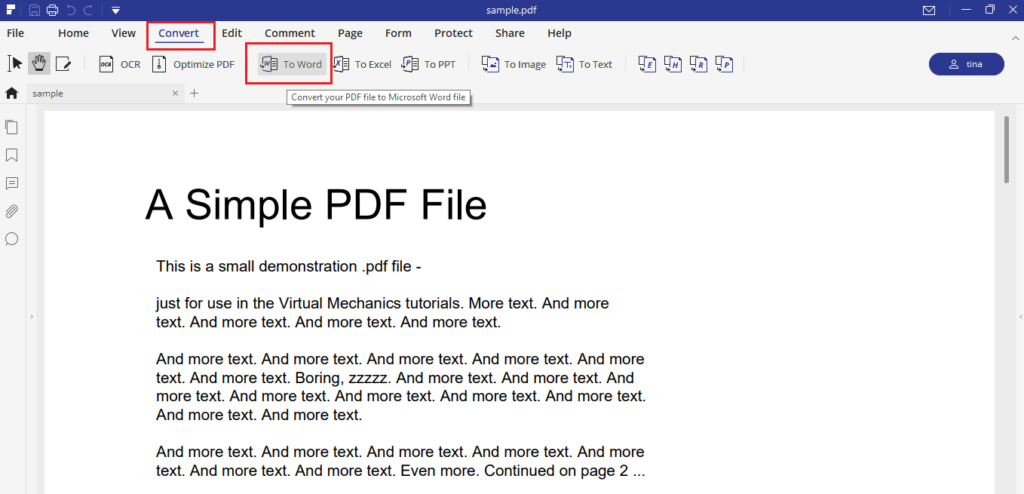 Iskysoft Pdf Element (Convert Pdf To Word)