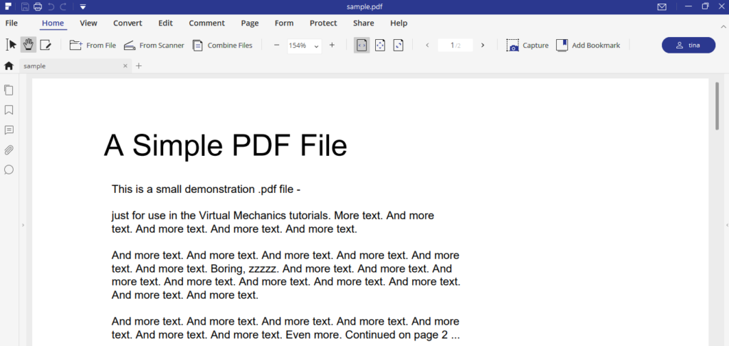 Iskysoft Pdf Element (Opening Document)
