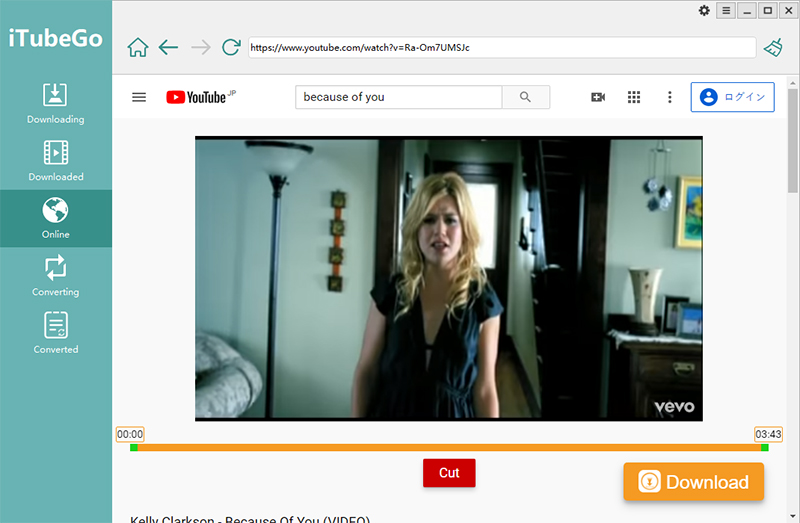 iTubeGo YouTube Downloader - Online Downloading