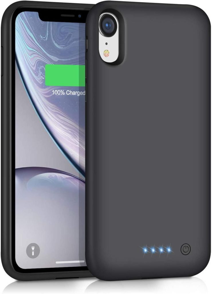 Ekrist Battery Case for iPhone XR 6800 mAh