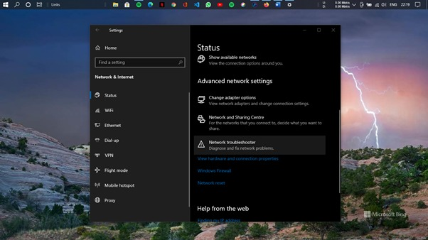 Wi-Fi Connected No Internet - Using Windows Network Troubleshooter