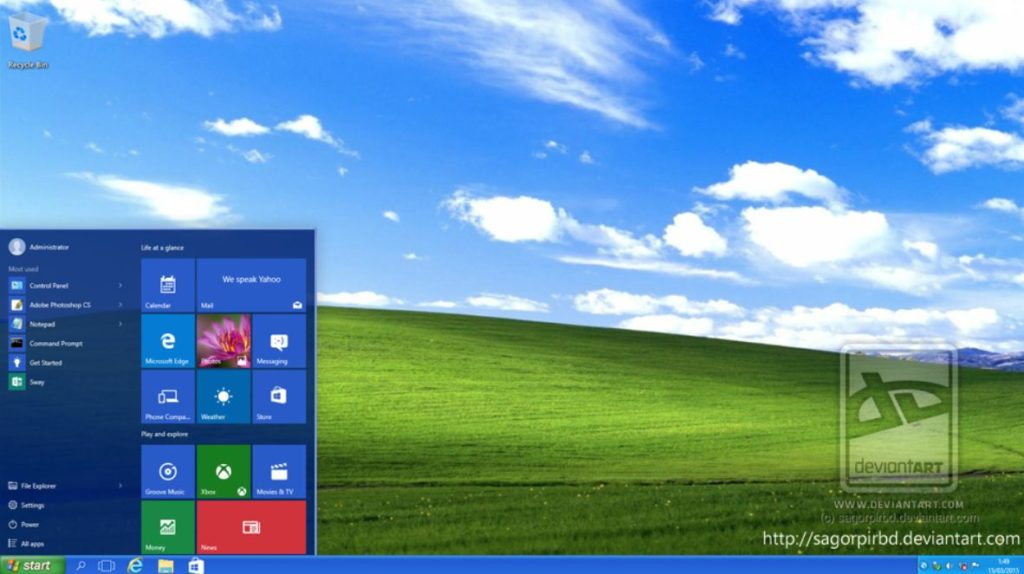 Windows 10 XP Themes Final