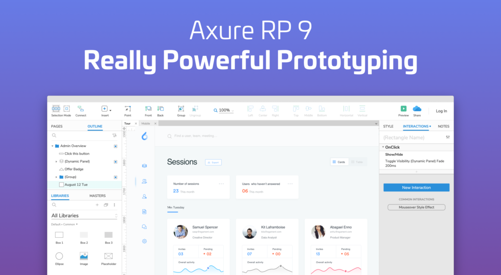 Best Software Development Tools - Axure Rp 9