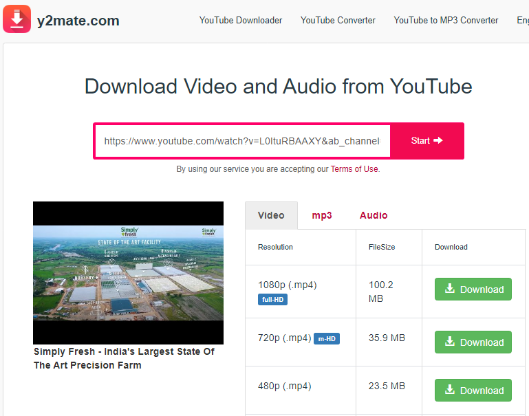 How To Download Youtube Videos - Y2Mate.com