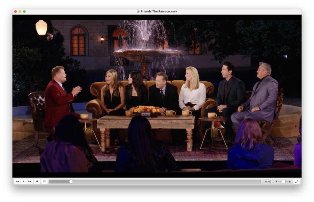 Vlc Media Player - Playing Friends The Reunion