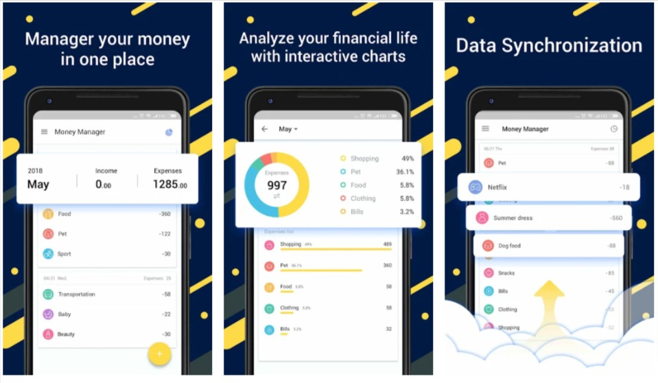 Money Manager- Expense Tracker, Free Budgeting App