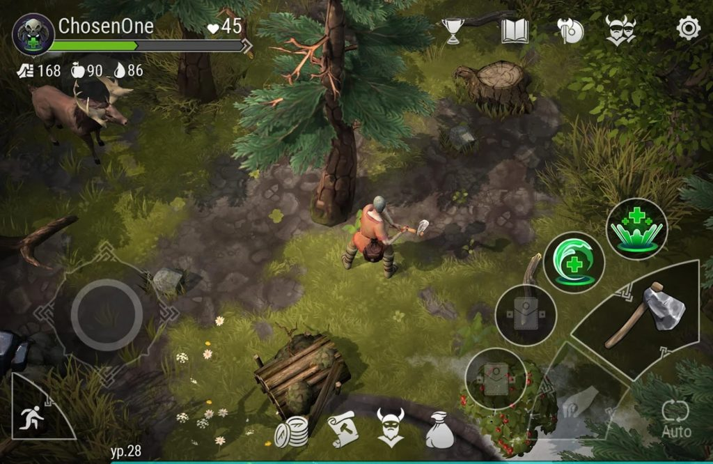 Frostborn- Action Rpg