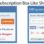 Download Subscription Box Like ShoutMeLoud